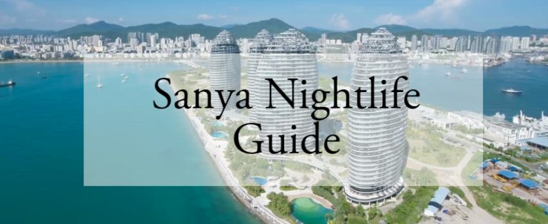 Sanya Nightlife Guide – 5 Coolest Places to Try + Drinking Etiquette